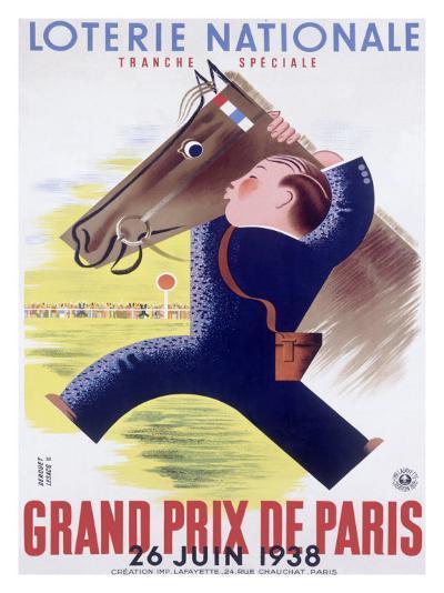 Grand Prix Horse Race, Paris--Giclee Print