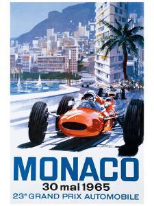 Grand Prix Monaco, 30 Mai 1965
