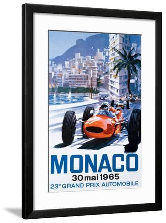 Grand Prix Monaco, 30 Mai 1965--Framed Giclee Print