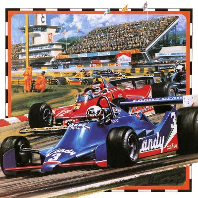 Grand Prix Racing-Wilf Hardy-Giclee Print