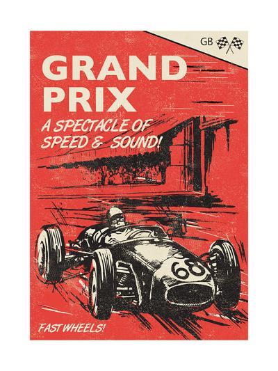 Grand Prix-Rocket 68-Giclee Print