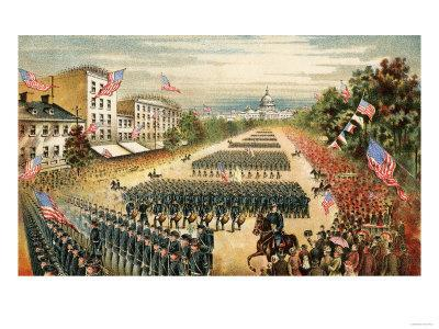 6 Sizes! Grand Review of the Union Army Post War New Civil War Photo