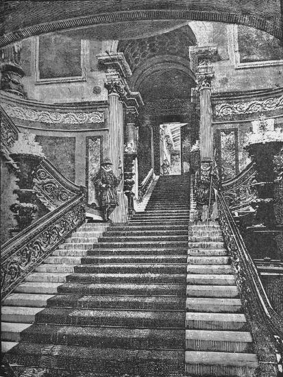 'Grand Staircase, Buckingham Palace', 1890-Unknown-Giclee Print