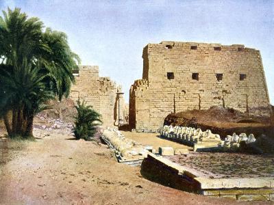 Grand Temple of Amun-Re, Karnak, Luxor, Egypt, 20th Century--Giclee Print