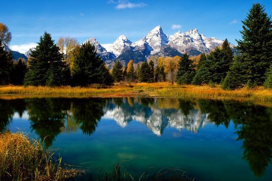 Grand Teton National Park XI-Ike Leahy-Photographic Print