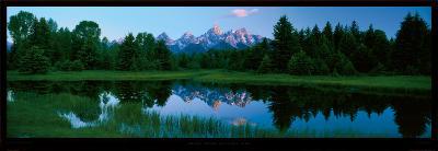 Grand Teton, National Park-Alain Thomas-Art Print
