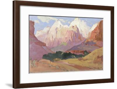 Grand Tetons--Framed Giclee Print