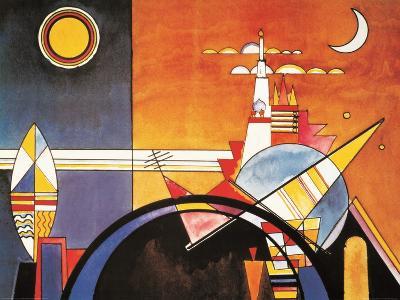 Grand Torre, Kiev-Wassily Kandinsky-Art Print