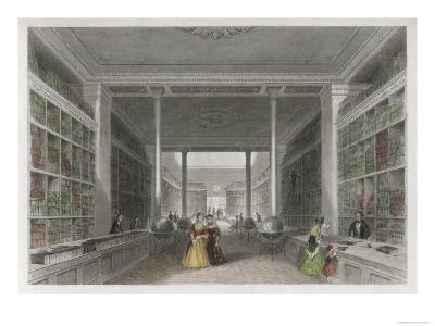Grand Victorian Bookshop, W and T Fordyce's Publishing Establishment Newcastle Upon Tyne--Giclee Print