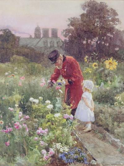 Grandad's Garden-Rose Maynard Barton-Giclee Print