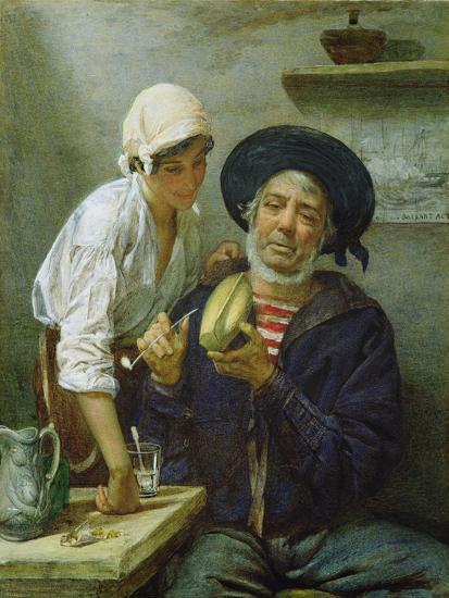 Grandad's Mate-Lawrence Duncan-Giclee Print