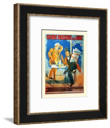 Grande Brasserie de la Loire-A. Nachipein-Framed Art Print