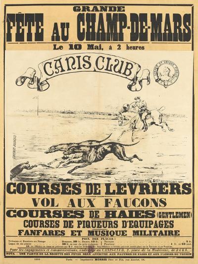 Grande fête au Champs-de-Mars--Giclee Print
