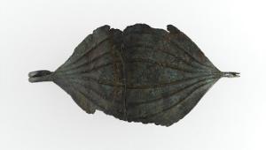 Grande fibule à arc foliacé en forme d'ogive