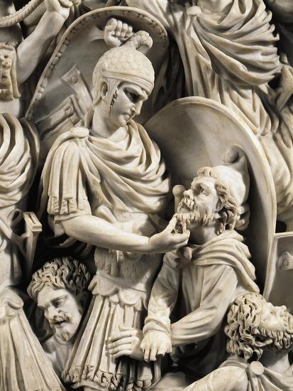 Grande Ludovisi Sarcophagus--Giclee Print