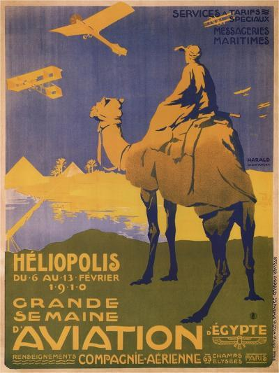 Grande Semaine D'Aviation- Harald-Art Print