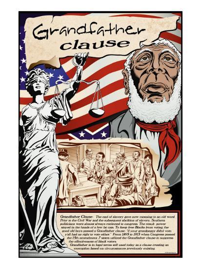 Grandfather Clause-Wilbur Pierce-Art Print