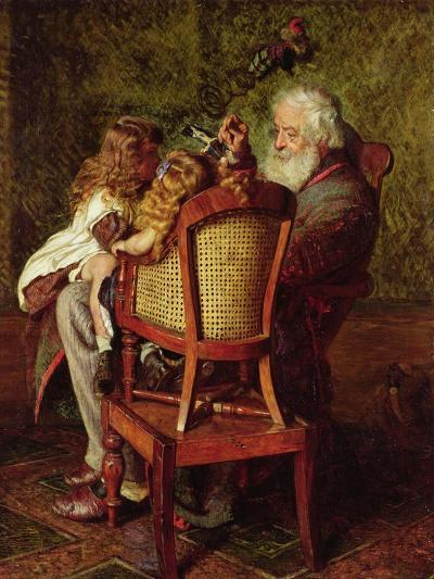 Grandfather's Jack-in-the-Box-Arthur Boyd Houghton-Giclee Print