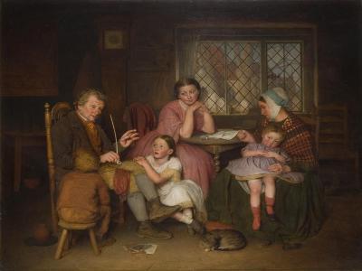 Grandfather's Tale, 1860-Edward Thompson Davis-Giclee Print