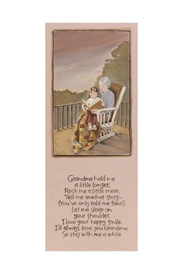 Grandma-Karen Tribett-Art Print