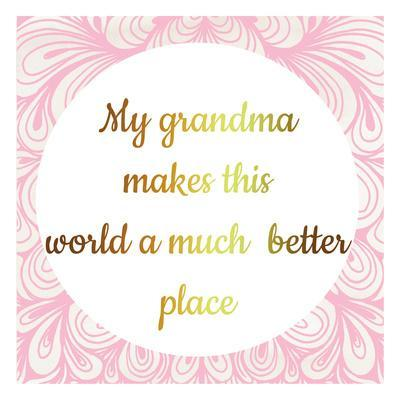 Grandmas World-Jelena Matic-Art Print