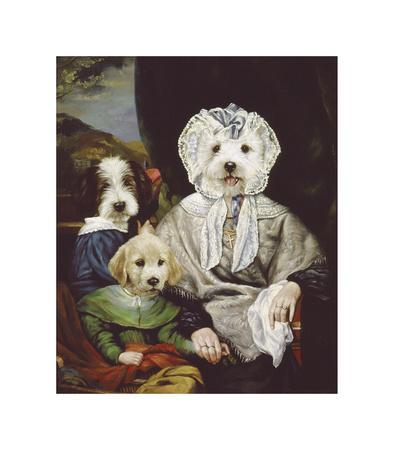 Grandmother's Pride-Thierry Poncelet-Premium Giclee Print