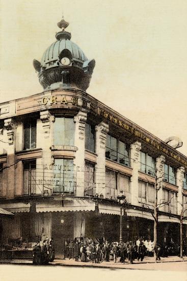 Grands Magasins Des Nouvelles Galeries, Avenue De Clichy, 1900--Photographic Print