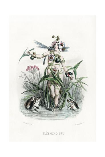 Grandville Reed 1847-JJ Grandville-Giclee Print
