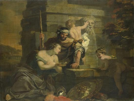 Granida and Daifilo-Gerard De Lairesse-Art Print