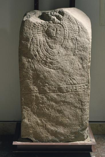 Granite Idol known as Stele of Granja De Toninuelo, from Jerez De Los Caballeros, Badajoz--Giclee Print