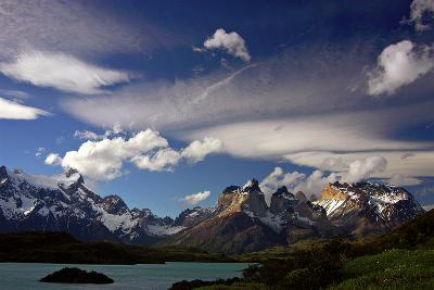 Granite Peaks in Torres Del Paine National Park-Tommy Heinrich-Photographic Print