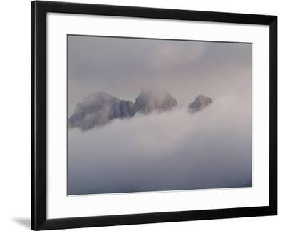 Granite Peaks of the Hajhir Mountains Rise to Nearly 5,000 Feet-Michael Melford-Framed Photographic Print