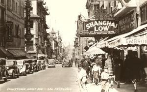 Grant Avenue, Chinatown, San Francisco, California