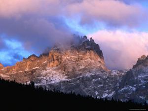 Dawn Light on Peaks Above Sesto Valley, Dolomiti Di Sesto Natural Park, Trentino-Alto-Adige, Italy by Grant Dixon