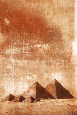 Pyramids at Sunrise. by Grant Faint