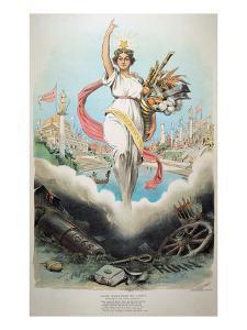 Atlanta Exposition, 1895 by Grant Hamilton