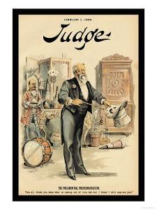 Judge Magazine: The Presidential Prestidigitateur by Grant Hamilton