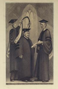 Honorary Degree by Grant Wood