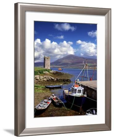 Granuaile's Tower, Kildavnet Castle, Achill Island, County Mayo, Ireland-Chris Hill-Framed Photographic Print