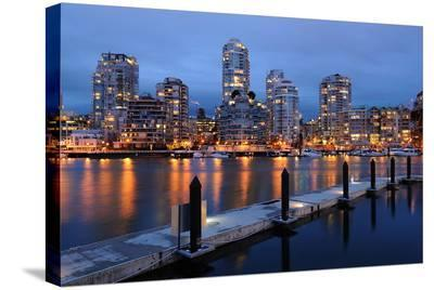 Granville Island Vancouver--Stretched Canvas Print