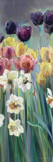 Grape Tulips Panel I-Marilyn Hageman-Art Print