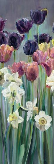 Grape Tulips Panel II-Marilyn Hageman-Art Print