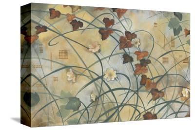 Grape Vine-Louise Montillio-Stretched Canvas Print