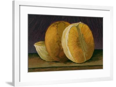 Grapefruit--Framed Art Print