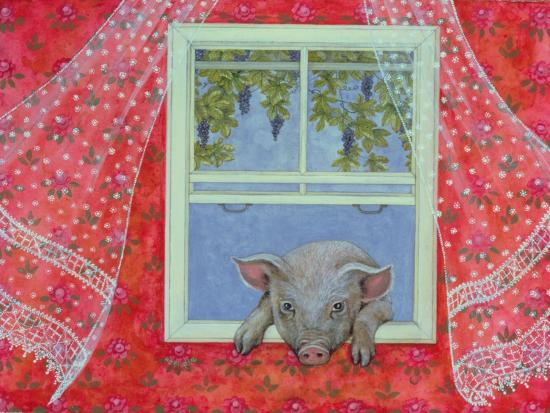 Grapes at the Window-Ditz-Giclee Print