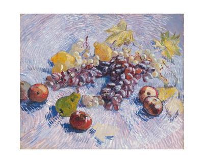 Grapes, Lemons, Pears, and Apples, 1887.-Vincent van Gogh-Giclee Print