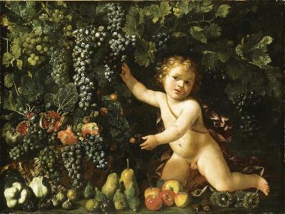 Grapes on the Vine--Giclee Print