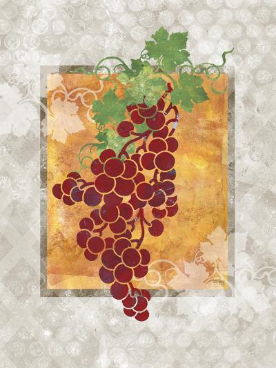 Grapes-Bee Sturgis-Art Print
