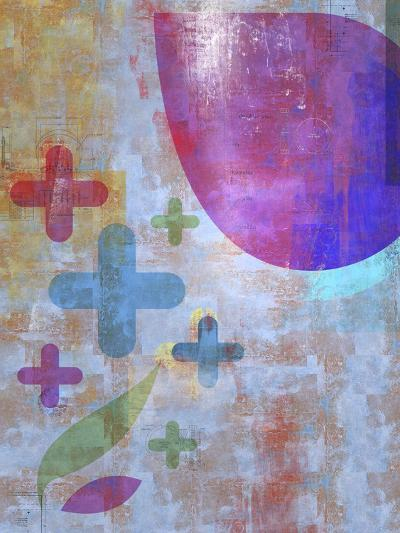 Graphic Abstract 1-Greg Simanson-Giclee Print