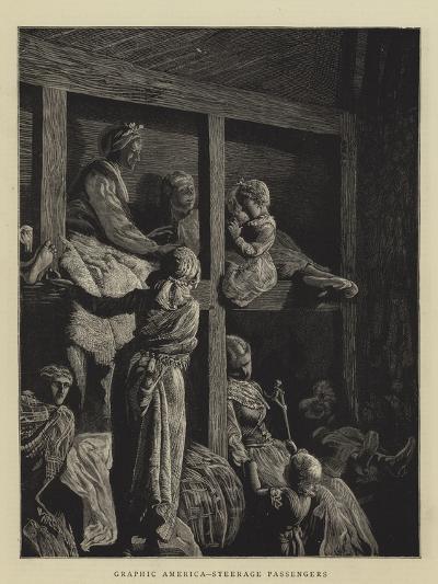 Graphic America, Steerage Passengers--Giclee Print